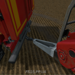 Мод прицеп Krampe Sb3060 with clutch v1.0 для farming simulator 2015