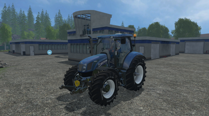Мод New Holland T6.160 v1.2 Fix Blue Power для Farming Simulator 2015